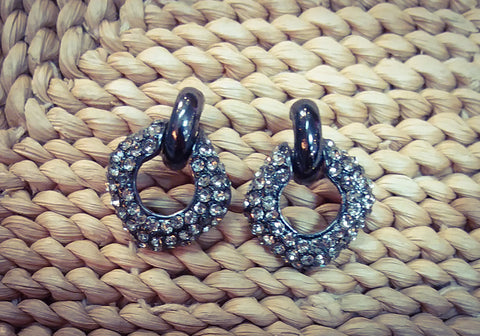 Black Studded earrings - Blessed and Beautiful Boutique