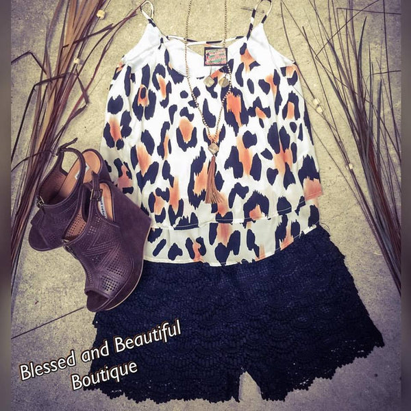 Animal Print Tank - Blessed and Beautiful Boutique