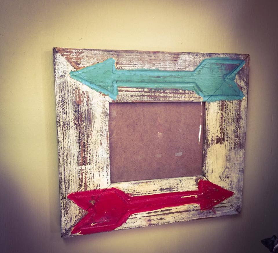 Rustic Arrow 8X10 Picture Frame - Blessed and Beautiful Boutique
