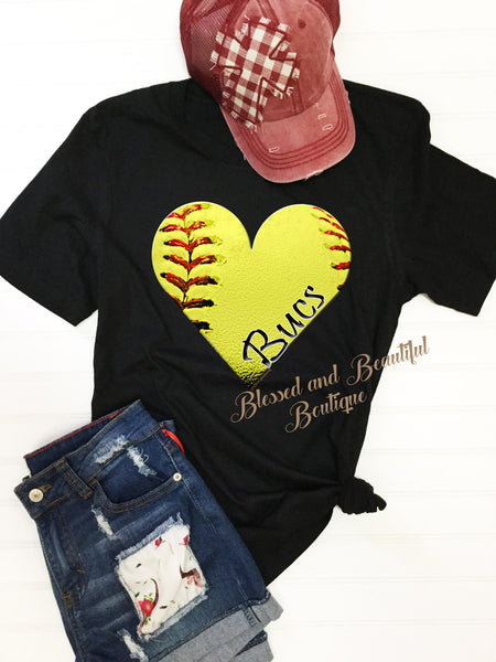 For the Love of Softball - Top - Blessed and Beautiful Boutique