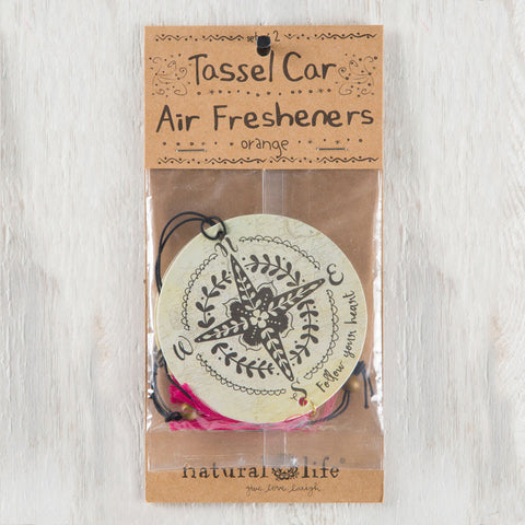 "Car Air Freshener ""Follow Your Heart"" - Blessed and Beautiful Boutique"