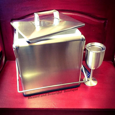 Stainless Steel Cooler - Blessed and Beautiful Boutique
