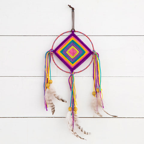 Dream Catcher with God's Eye - Blessed and Beautiful Boutique