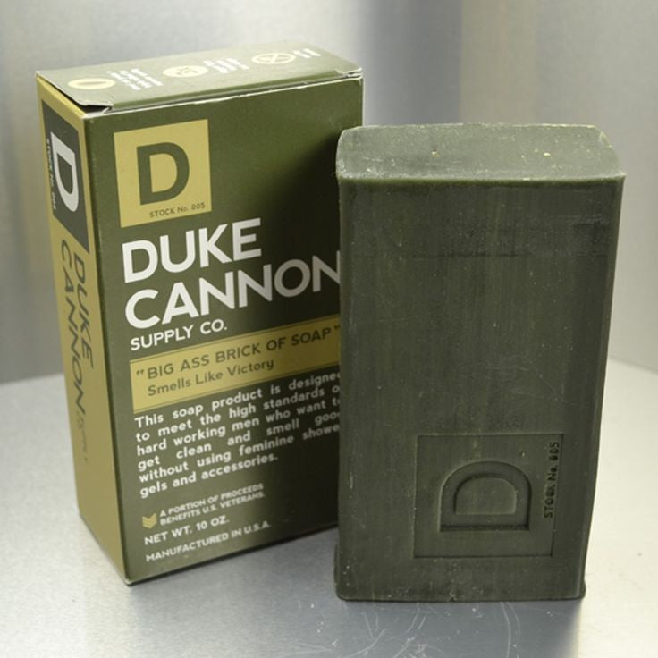 "Duke Cannon ""Big Ass Brick of Soap"" - Victory - Blessed and Beautiful Boutique"