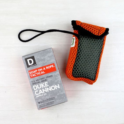 Duke Cannon TACTICAL SOAP ON A ROPE POUCH - Blessed and Beautiful Boutique