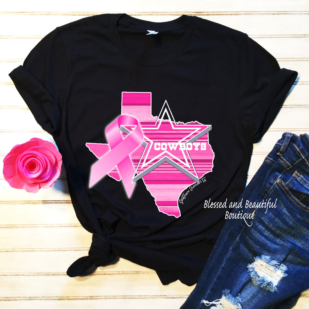 For the Cure Cowboys - Blessed and Beautiful Boutique
