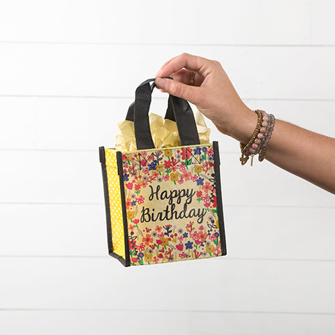 "Small Gift Bag ""Happy Birthday"" - Blessed and Beautiful Boutique"