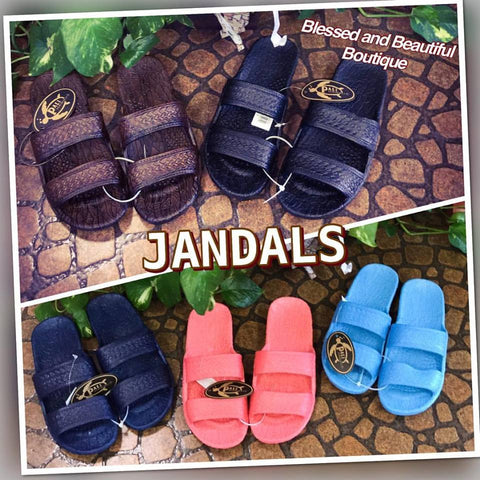 Jandals - Blessed and Beautiful Boutique