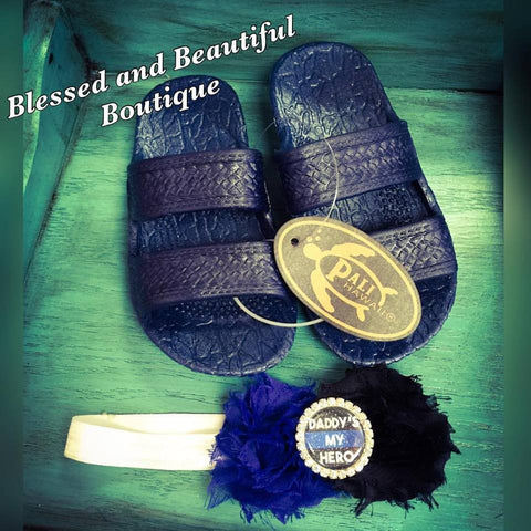 Jandals - Youth - Blessed and Beautiful Boutique