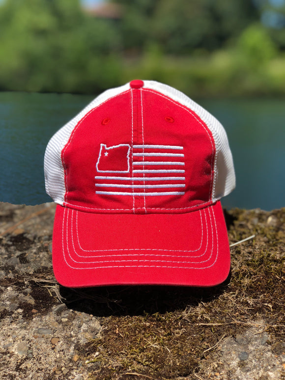 Red/White Dad Hat