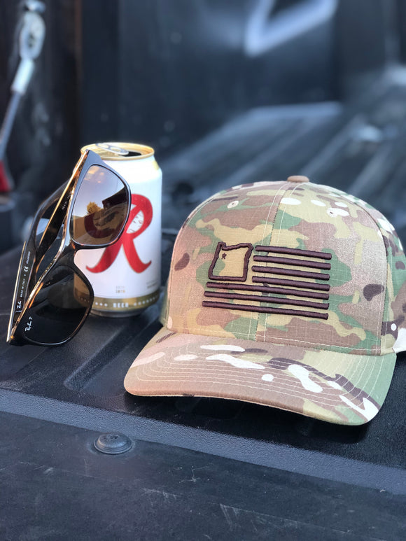 Multicam Ripstop Snap-back