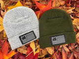 Premium Knit Beanie - Heather Grey