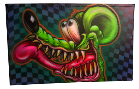 Custom Airbrushed Ammo can Rat Fink