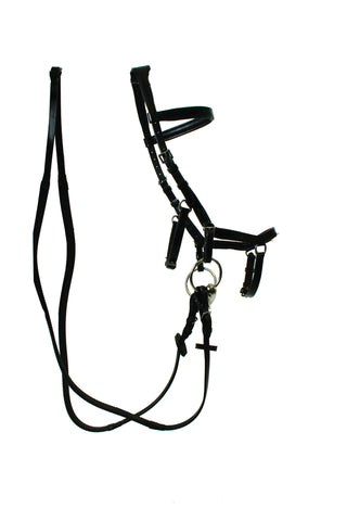 Rambo Micklem Comp Bridle with reins