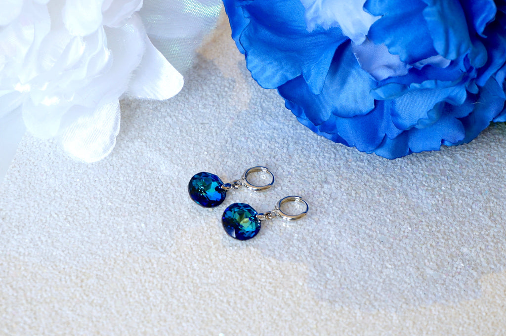 divuscreations earrings in blue