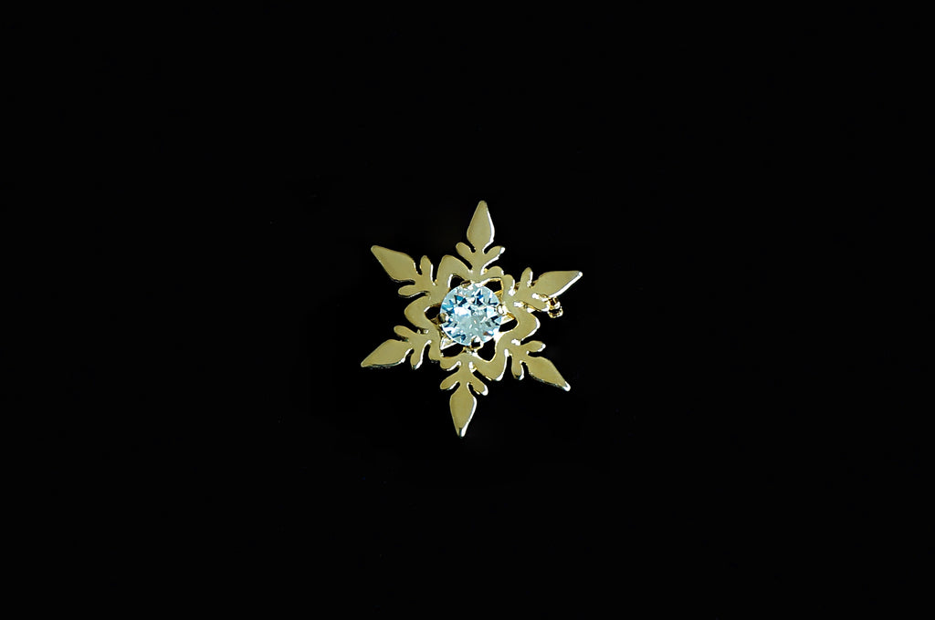 Star shaped brooch pin Divuscreations