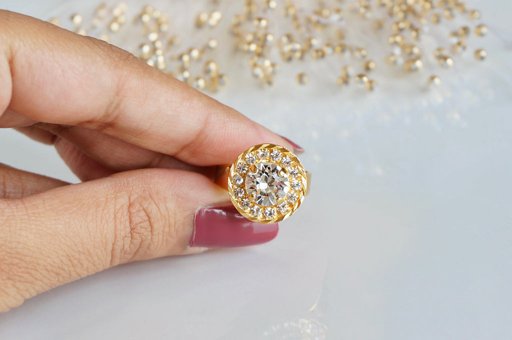 Sparkling ring shop online india divuscreations