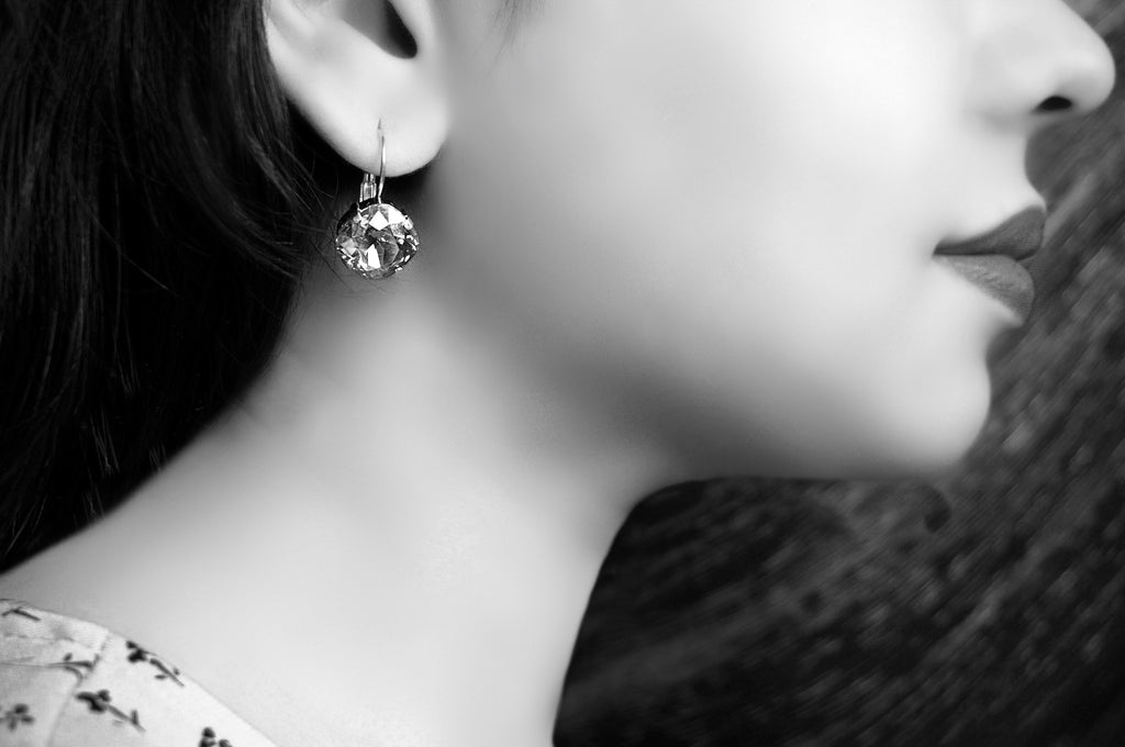 Lever back earrings from divuscreations