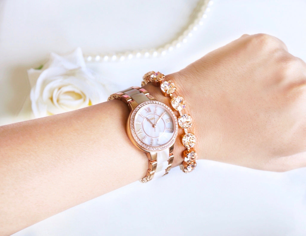 rose gold bracelet at divuscreations.com