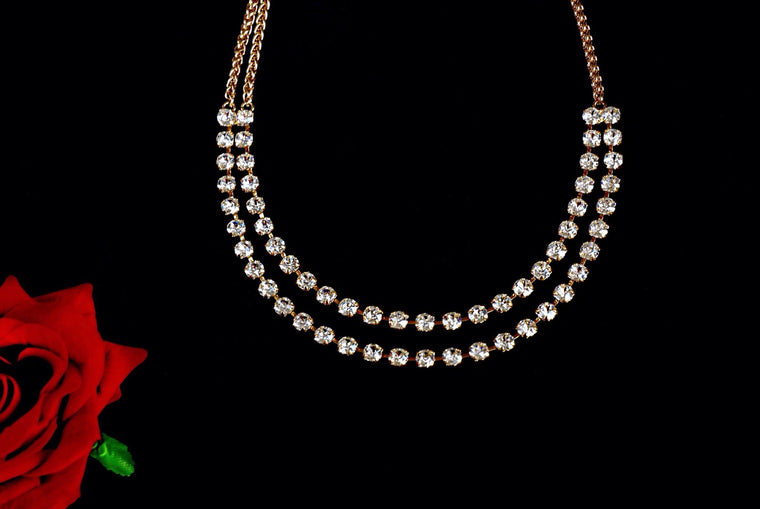 Designer jewellery made with Swarovski crystals, available online at divuscreations