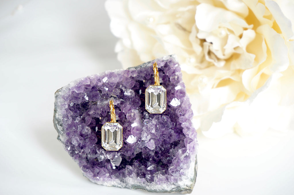 divus leverback earrings
