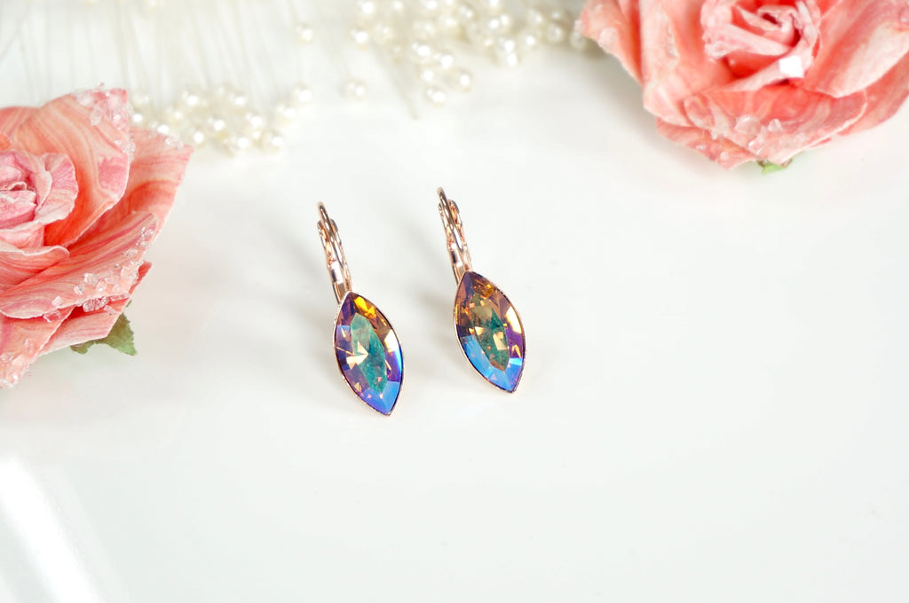 Multicoloured earrings divus india
