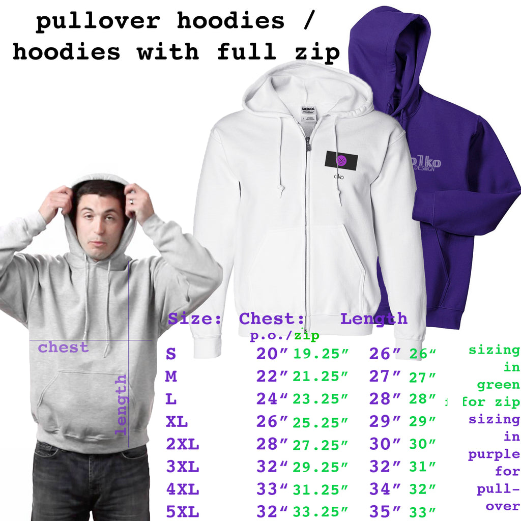 Zip Up and Pull Over Hoodies