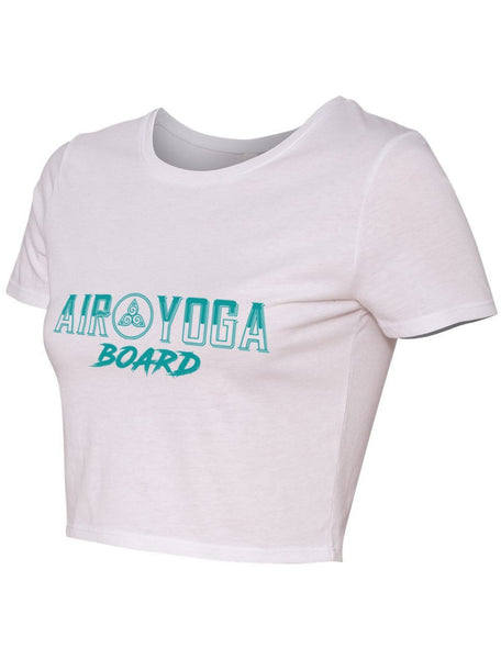 Air Yoga Board Crop Tee