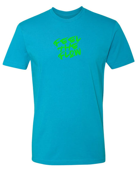 Feel The Flow Aqua T Shirt