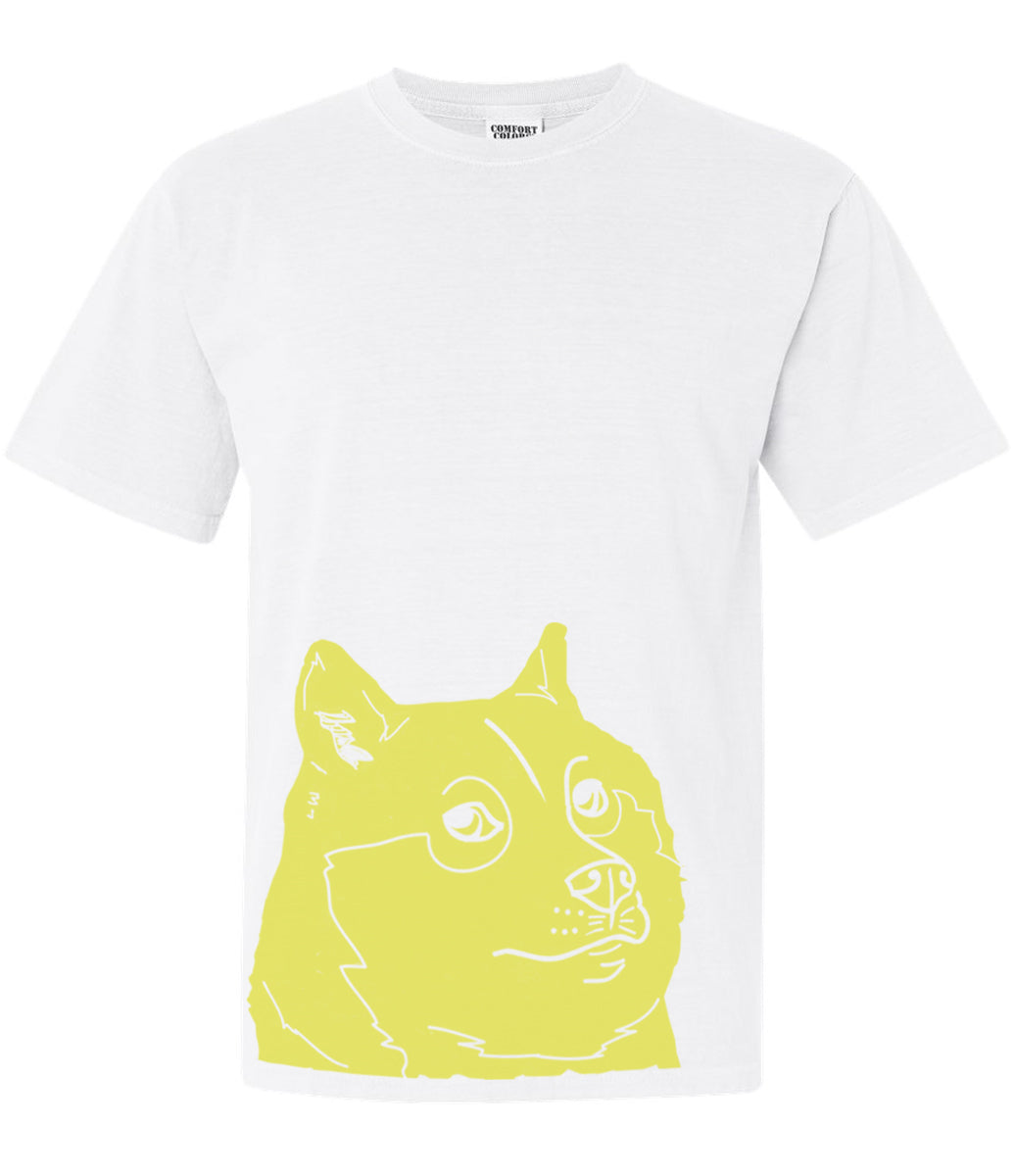Doge White T Shirt
