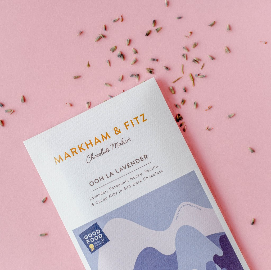Markham & Fitz Ooh La Lavender Chocolate Bar