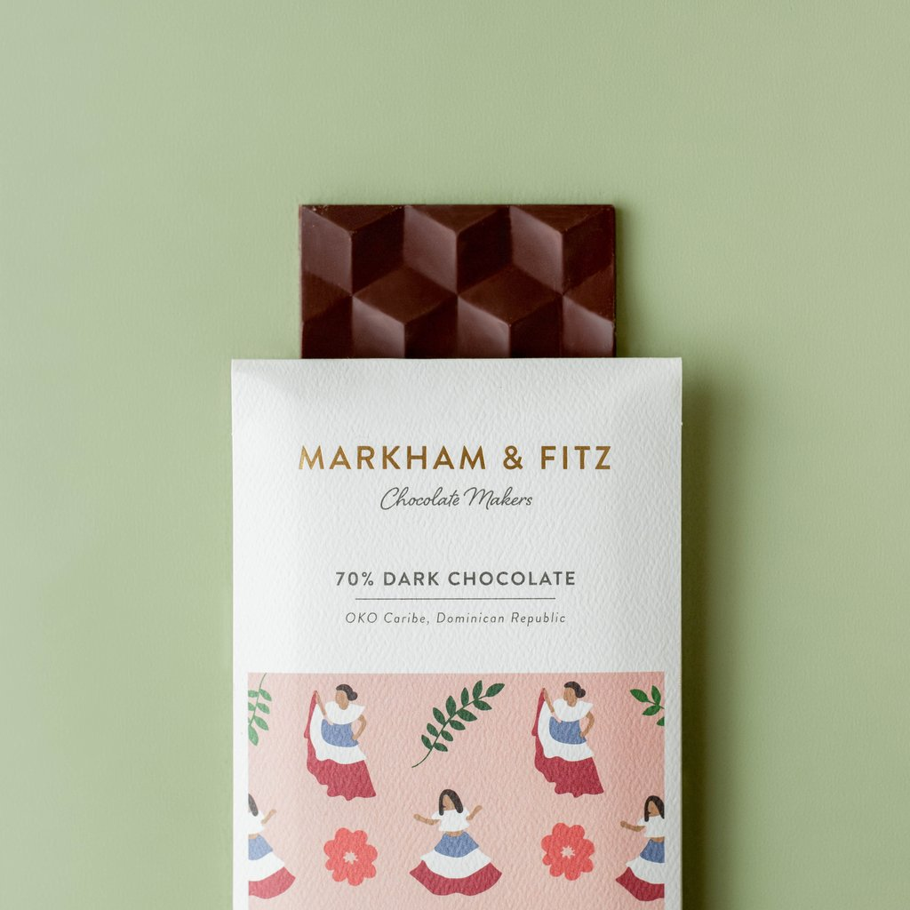 Markham & Fitz Dark Chocolate Bar