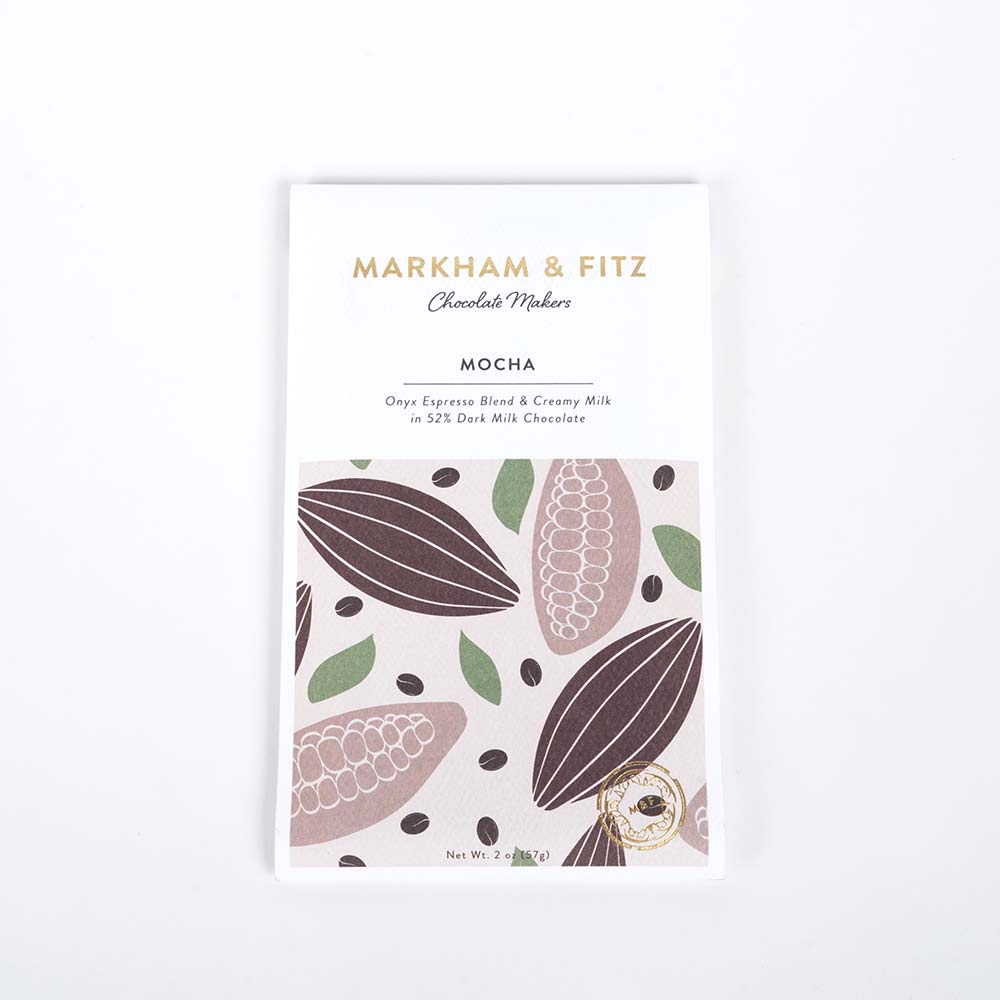Markham & Fitz Mocha Chocolate Bar
