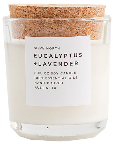 Large Eucalyptus Candle