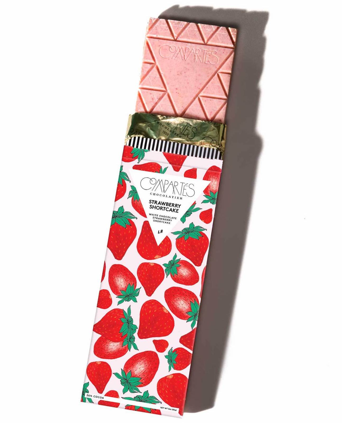 Strawberry Shortcake Chocolate Bar
