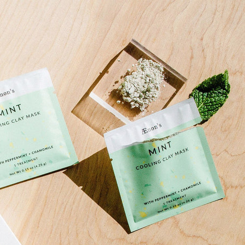 Set of Two Refreshing Mint Masks