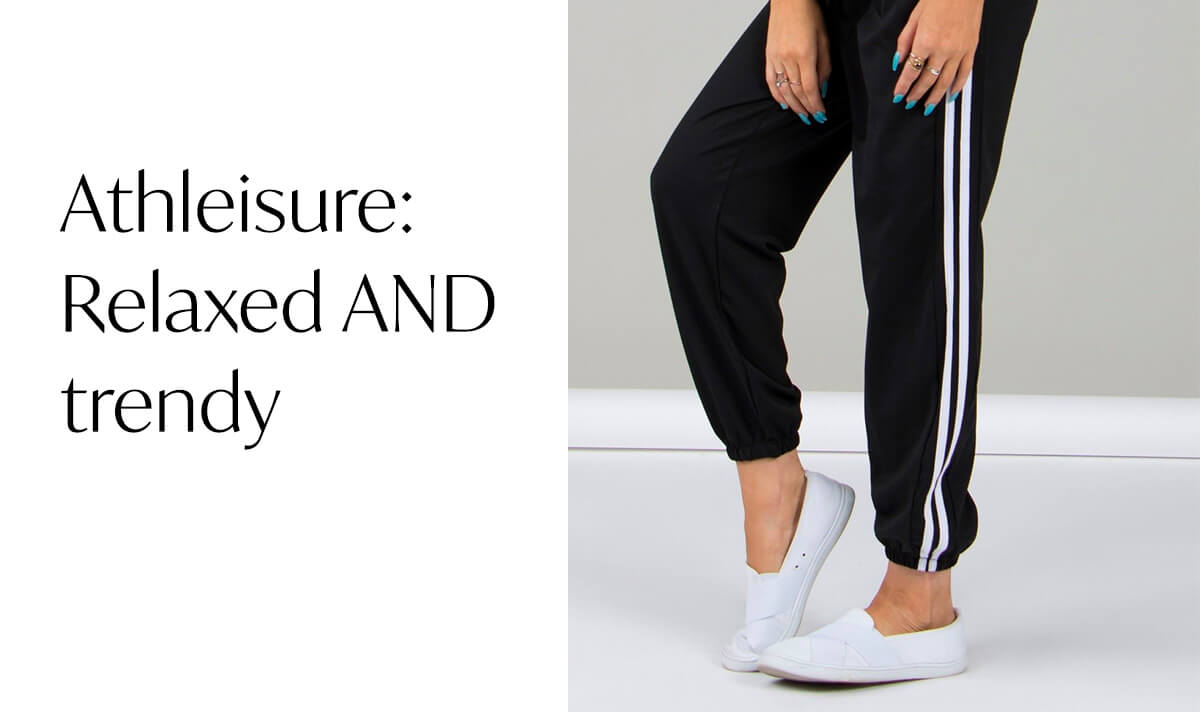 Athleisure: Relaxed AND Trendy