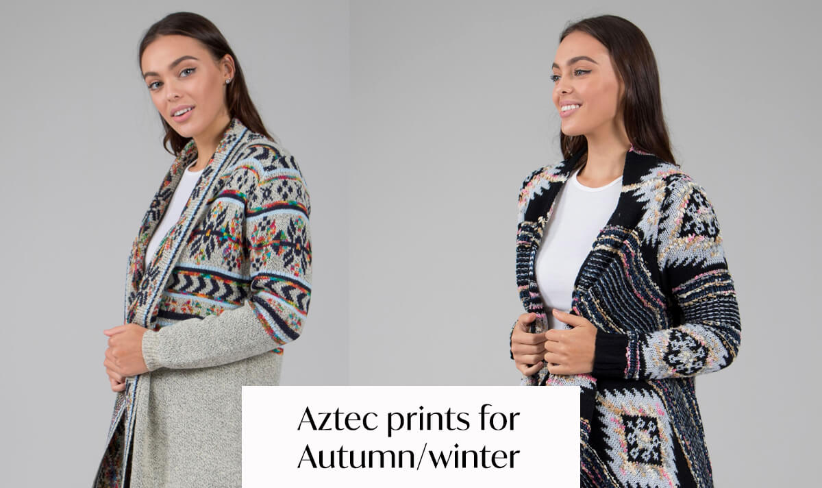 Aztec Prints for Autumn/Winter