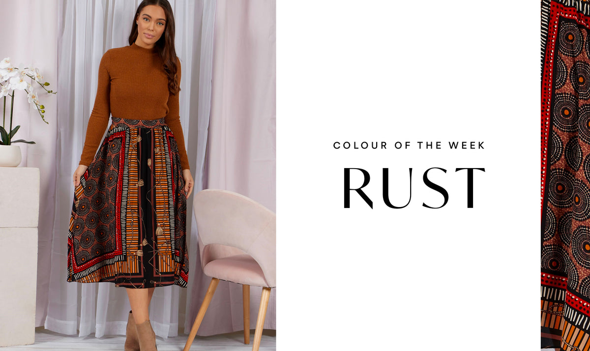 Colour of the Week: Rust