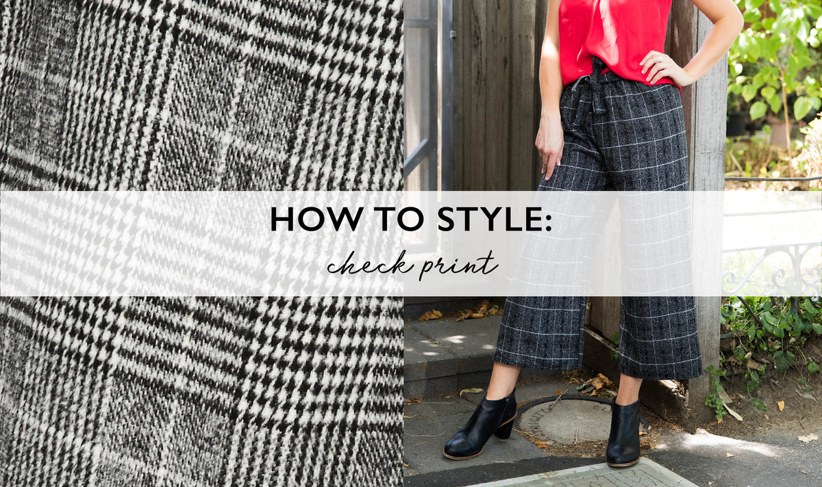 How to Style: Check & Tartan Print