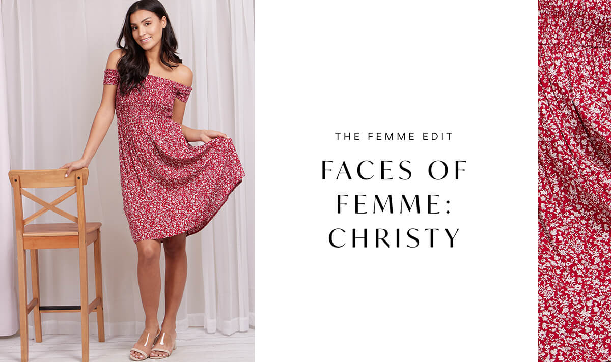 Faces of Femme: Christy