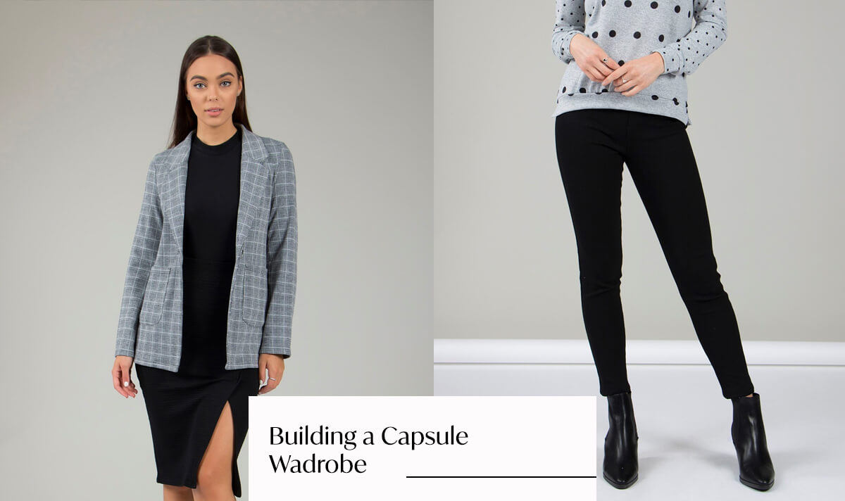 Pieces With Mileage: Building a Capsule Wardrobe