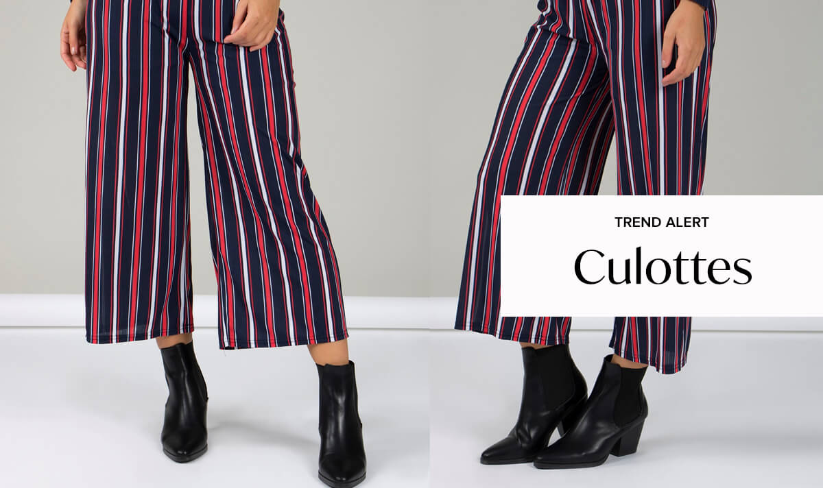 Spice Up Your Silhouette with Culottes