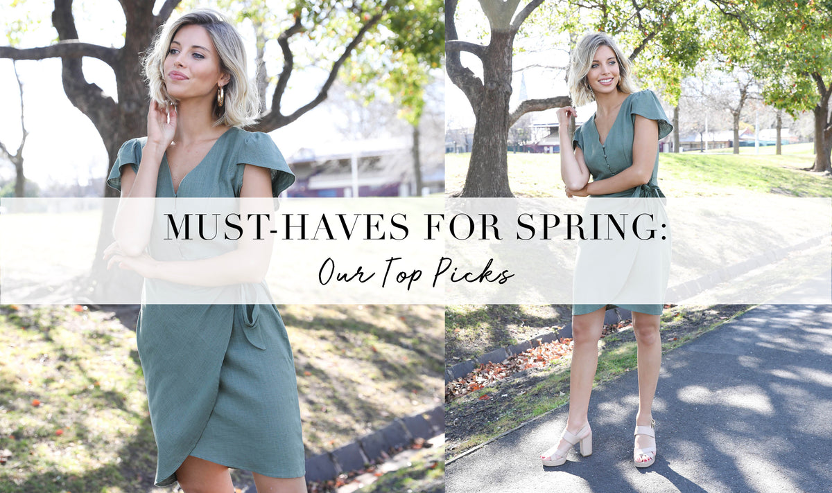 Must-Have Items for Spring