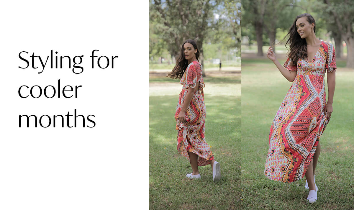Styling Maxi Dresses and Skirts for Cooler Months