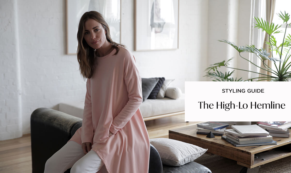 Styling the High-Lo Hemline