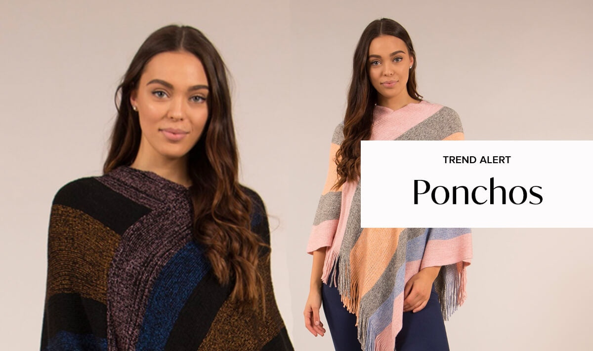 Winter Warmers: Ponchos