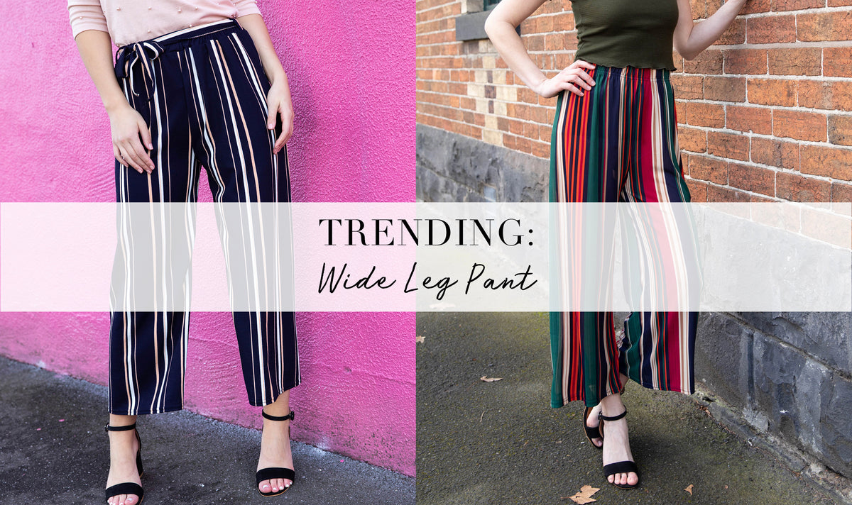 Trending: The Wide Length Pants