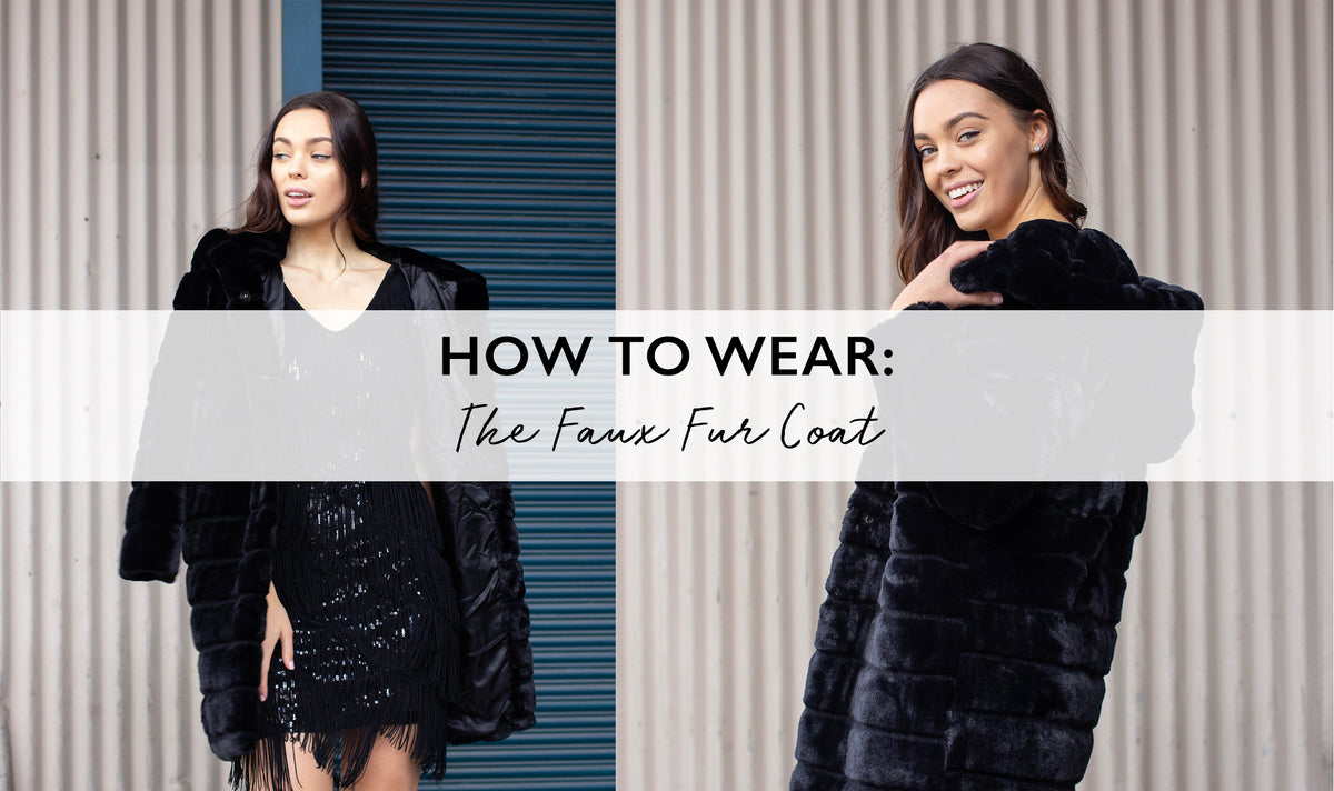 How to Wear the Faux Fur Coat this Winter