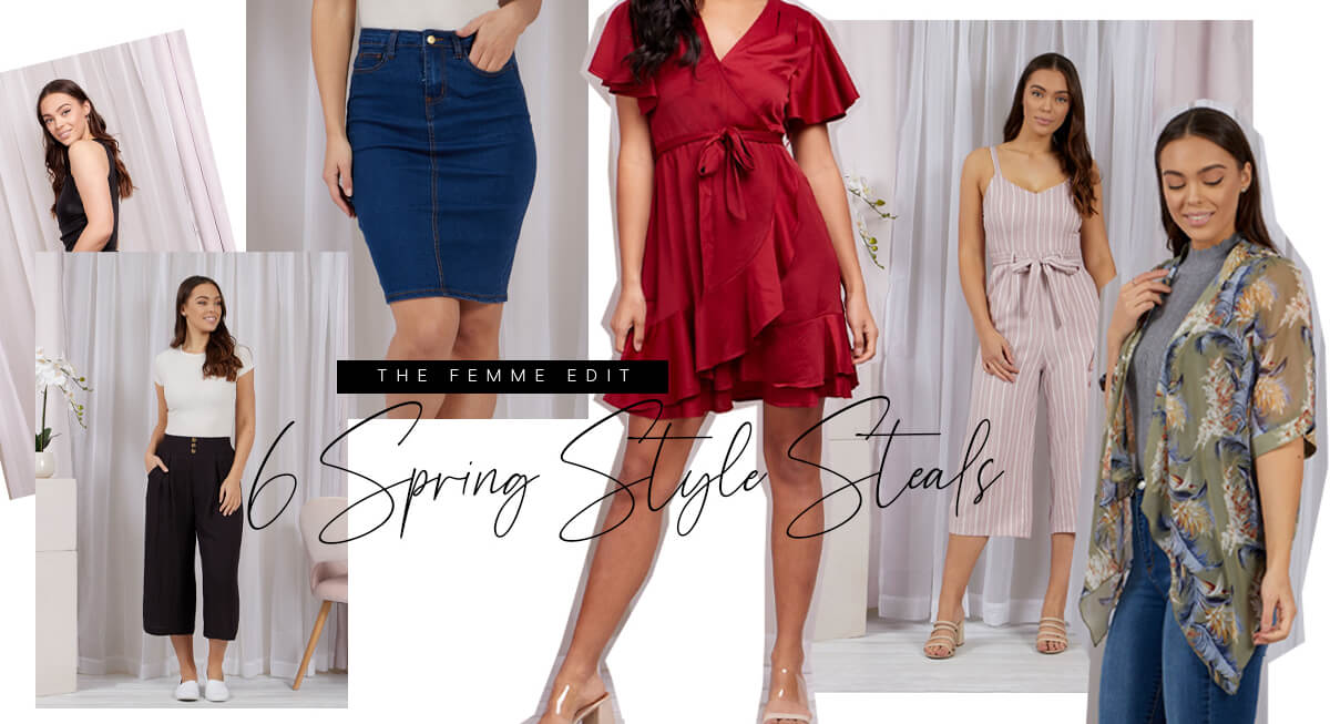 6 Spring Style Steals | Femme Connection